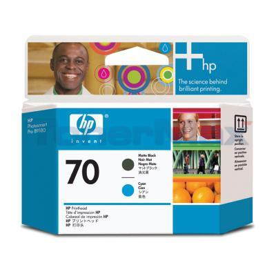 HP DESIGNJET Z2100 NO 70 PRINTHEAD MATTE BLACK AND CYAN